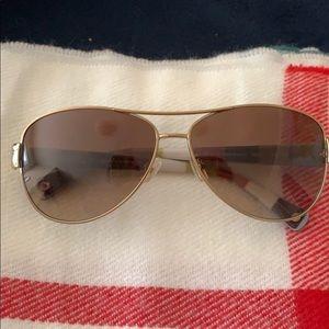 GUC Coach aviator-style sunglasses